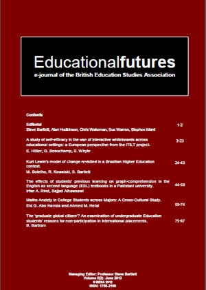 EducationalFutures Vol 5 Issue 2 pdf cover