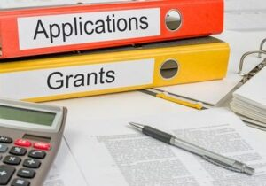 Image of applications and grants folders