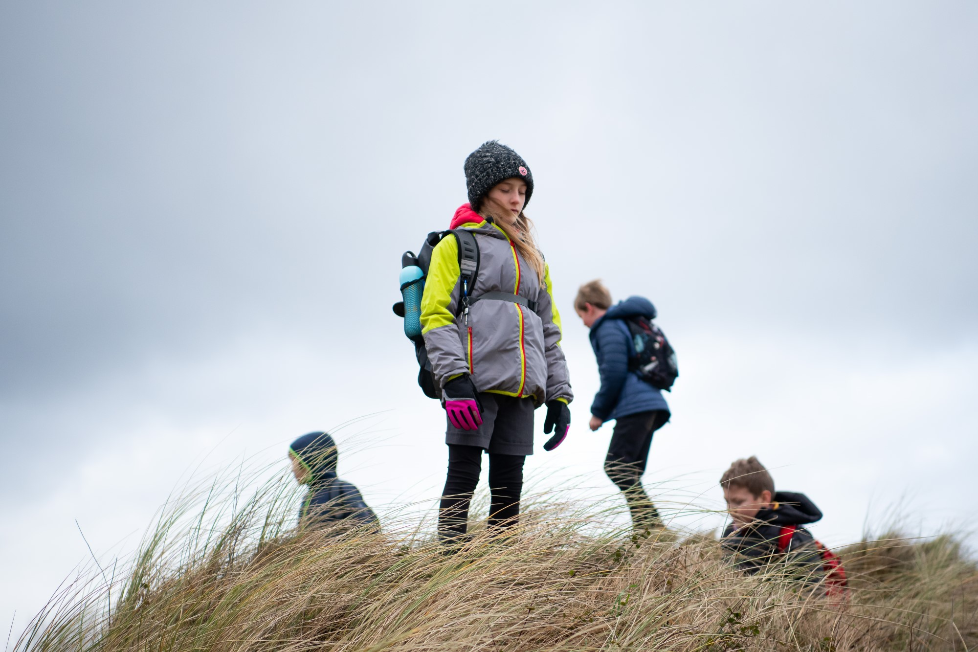 Picture of Children Learning Outdoors