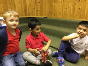 Picture of children working together in a small group