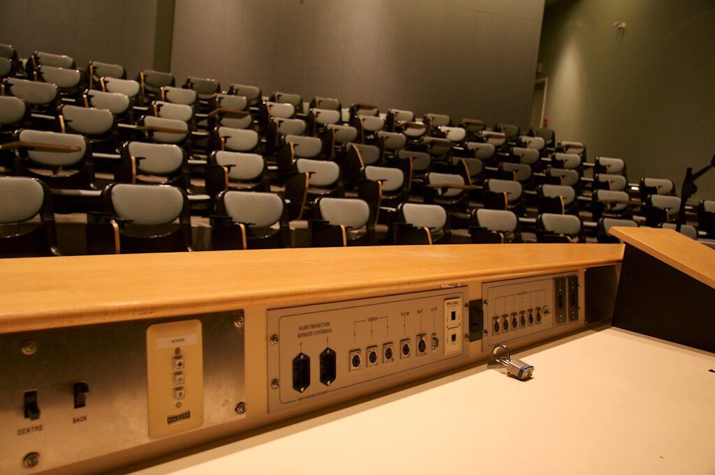 Picture of Empty Lecture Hall