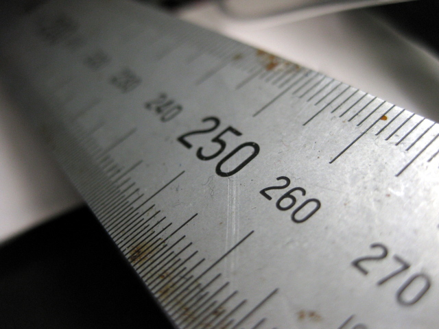 Picture of a ruler